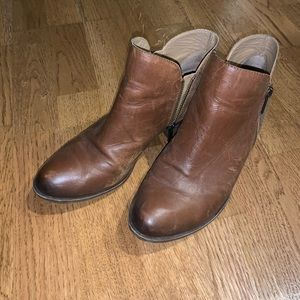 Lucky Brand booties. Good condition.